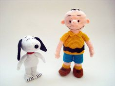 Amigurumi Patterns Snoopy : Amigurumi cedric and chen by boutiquecarnival on etsy $52.00