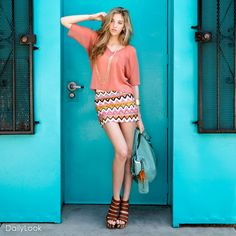 Check out Navajo Pattern Bohemian Flare Look by Potter's Pot and Glaze at DailyLook