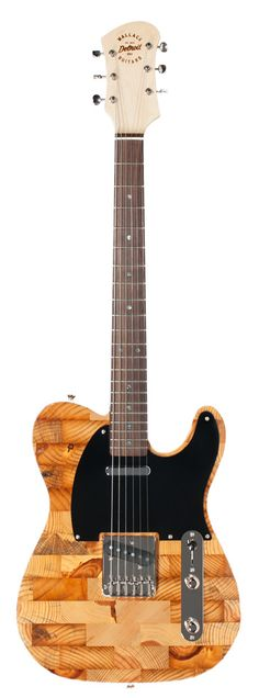 Wallace Detroit Guitars – The Guitars Guitars mead of the reclaimed lumber of Detroit.