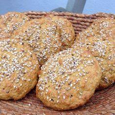 Glutenfri gulerodsboller (glutenfri, sukkerfri og laktosefri) | Fab Food by Pernille