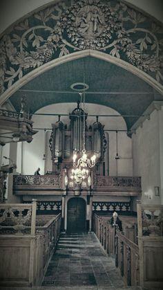 Pieterburen Church Architecture, Sweet Sweet, Kirchen, King, World, Building, Beautiful, Ceilings, Altars