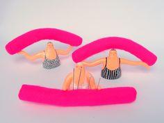 Aqua aerobics swimmer pin cushion by livanddom on Etsy https://www.etsy.com/listing/241571600/aqua-aerobics-swimmer-pin-cushion
