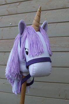 Stick Unicorn Purple Ready to Ride MADE TO by RusticHorseShoe, $47.00