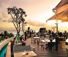Visit Sky Garden Rooftop Lounge with Flamingo Travels Has An Amazing Collection Of and For More Info, Call 9825081806 or Visit Bali Nightlife, Bali Tour Packages, Rooftop Lounge, Sky Garden, Kuta, Outdoor Furniture, Outdoor Decor, Sun Lounger, Night Life