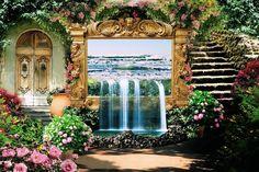 Free photo Remix Pixabay Flora Fantasy Garden Design Flowers - Max ...