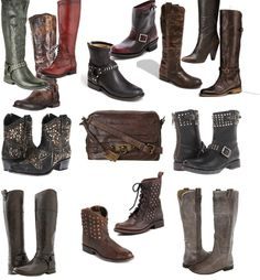 Frye Boots for Fall, Style Files Frye Boots, Style Files Style Apothecary, Style Apothecary style files,Frye boots for Fall #Motorcycle Boots #Biker Boots #Fashion #Harness Boots #Engineer Boots At Eagle Ages we love motorcycle boots. You can find a great choice of second hands motorcycle boots in our store https://eagleages.com/shoes/boots/women-boots/cowboy-boots.html