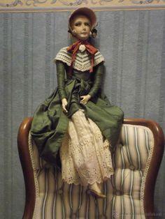 Muñeca boudoir doll,poupée de salon