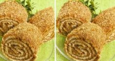 Ореховый рулет к чаю: объедение | NashaKuhnia.Ru