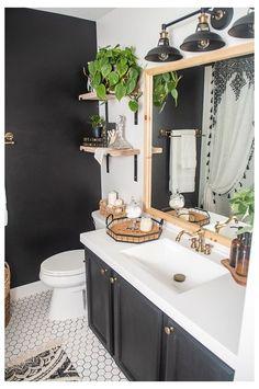 Green Bathrooms Designs, Bathroom Design Small, Bathroom Interior Design, Bathroom Layout, Apartment Bathroom Decorating, Decorating Small Bathrooms, Bathrooms Decor, Bathroom Designs, Interior Ideas