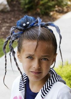 Best Indoor Garden Ideas for 2020 - Modern Crazy Hair For Kids, Crazy Hair Day At School, Crazy Hat Day, Boys Long Hairstyles, Fancy Hairstyles, Halloween Hairstyles, Carnaval Costume, Whoville Hair, Wacky Hair Days