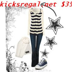 Like the outfit, but converse not so Much with this style. Maybe a short boot Want #Grils #Converses