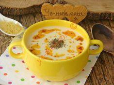 Çok az malzeme ile yapabileceğiniz oldukça lezzetli, pratik ve doyurucu bir çorba tarifi...