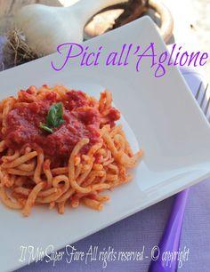 #Pici all'aglione #ricetta facile