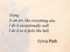 Silvia Plath, poeta estadounidense.