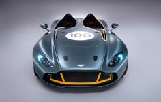 The CC100 Speedster Concept by Aston Martin beautifully celebrated their 100th anniversary while incorporating Sir Stirling Moss' triumphant win at the 24 Hours of Nürburgring in 1959.  Stunning. Check out the video here.