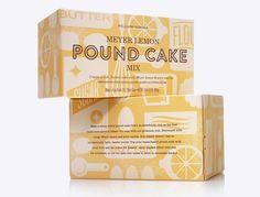 Williams-Sonoma - Meyer Lemon Pund Cake Mix. Stout.