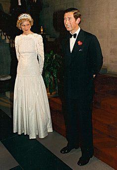 Diana Princess of Wales and Prince Charles at the British… | Flickr