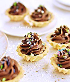 Carnitas Recipe, Cheese Tarts, Mini Tart, Polish Recipes, Pastry Cake, Sweet Recipes, Cupcake Cakes, Bakery, Dessert Recipes