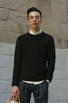 Smart / Holdall / Jumper / Glasses