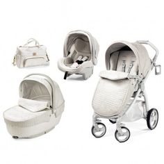 White Quilted Travel System. Shop pushchairs   accessories for babies ... 667c6784128da