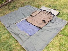 The Twodogs Canvas Bush Roll Compact Sleeping Bag, Down Sleeping Bag, Backpacking Gear, Camping Gear, Camping Stuff, Bushcraft Skills, Survival Skills, Urban Survival, Wilderness Survival