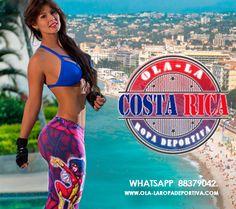 Cada vez son mas los países que se unen a nuestra marca, para brindar a mujer de hoy una linea exclusiva de prendas deportivas que le permiten versen y sentirsen + cómoda + Fitness + Fashion +OLALA... Ahora somos OLA-LA COSTA RICA... Contacto Whatsapp +506 88379042. Ola-la Ropa Deportiva Costa Rica www.olalamoda.com #Costarica #Olalacostarica #Ropadeportivacolombiana #Leggins #Blusas #Shorts #Faldas #GYM #Enterizos #fitness #fitgirls #fitinspiration 