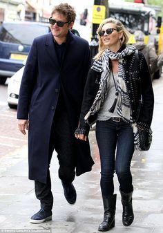 Kate Moss, 42, and Nikolai von Bismarck, 29, go on shopping spree