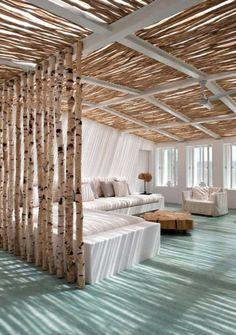 Wohnzimmer mit Strand Flair - 10 originelle Einrichtungsideen. Mit diesen originellen Ideen werden Sie immer eine frische Brise in Ihrem Wohnzimmer parat haben.