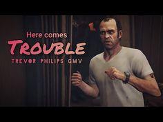 Trevor Philips GTA 5 GMV | Neoni | Here Comes Trouble - YouTube Trevor Philips, Here Comes, Gta 5, Funny Moments, Music Videos, Lyrics, Songs, Quotes, Youtube
