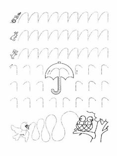 Printable worksheets for kids Connect the dots for Preschoolers 21 Tracing Worksheets, Kindergarten Worksheets, Worksheets For Kids, Printable Worksheets, Activities For Kids, Educational Activities, Pre Writing, Writing Skills, Improve Your Handwriting