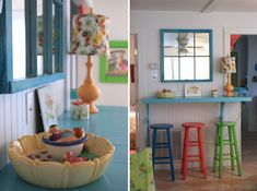 House of Turquoise: The Shrimp + Mermaid Cottages