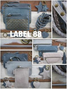 LABEL 88 Leather Keycords and Bags!