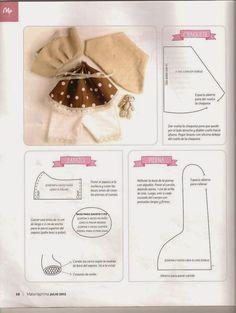 O molde de boneca mais usado pelas artistas do mundo todo. Cada uma personaliza a sua criação, tornando marca pr...