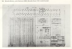 Pilotes Le Corbusier, Sheet Music, Marseille, Music Sheets