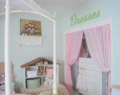 Idea for closet to make it more girlie?    Kids Kids Canopy Beds Design, Pictures, Remodel, Decor and Ideas - page 19