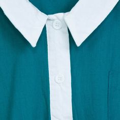 Robe Back to School Bleu Vintage