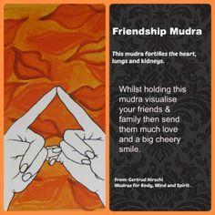 friendship mudra
