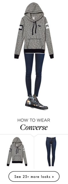 """Simply Simple"" by musicgirl5317 on Polyvore featuring Frame Denim and Converse"