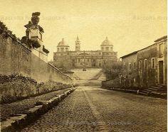 Foto storiche di Roma - Santa Maria Maggiore Anno: 1860 ca
