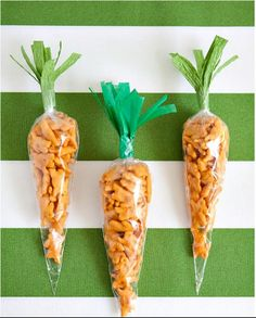 DIY Easter Ideas - Easter Carrot Snack Bags