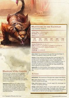 Dungeons And Dragons Classes, Dungeons And Dragons Homebrew, Cool Monsters, Dnd Monsters, Dnd Dragons, Dnd Races, Dungeon Master's Guide, Modern Magic, Dnd 5e Homebrew