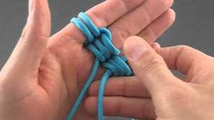 How to make a Ball Keychain [by ParacordKnots] - YouTube