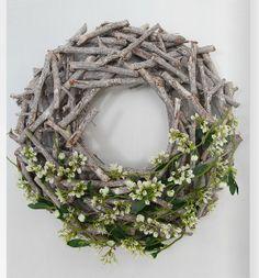 Весна Пасха Украшение Ветки Зелень