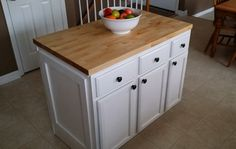 15 do it yourself hacks and clever ideas to upgrade your kitchen 4 diy kitchen island how to make a diy kitchen island and install it in your solutioingenieria Choice Image