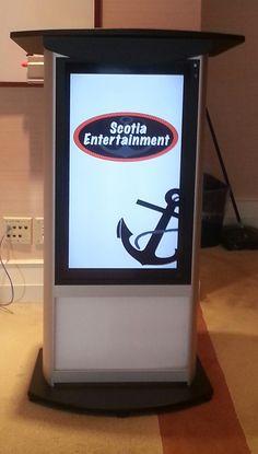 LED Digital HD Podium - Toronto Audio-Visual Services & Rentals. http://www.ScotiaEntertainment.com