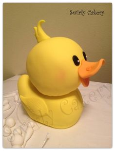 Ducky Duck Cake Topper