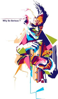 Why So Serious on Behance