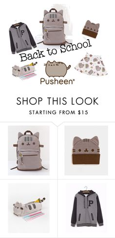 """#PVxPusheen"" by cindy-dill on Polyvore featuring Mode, Pusheen, contestentry und PVxPusheen"