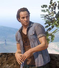 Sam Drake #Uncharted4