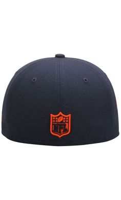 NFL Men s Chicago Bears New Era Navy State Clip 59FIFTY Fitted  Hat   outdoors cccc785d5
